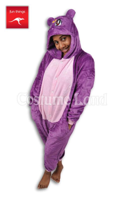 Onesie Purple Cat