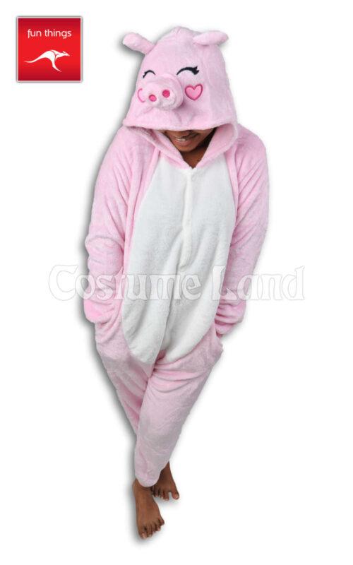 Onesie Pink Pig